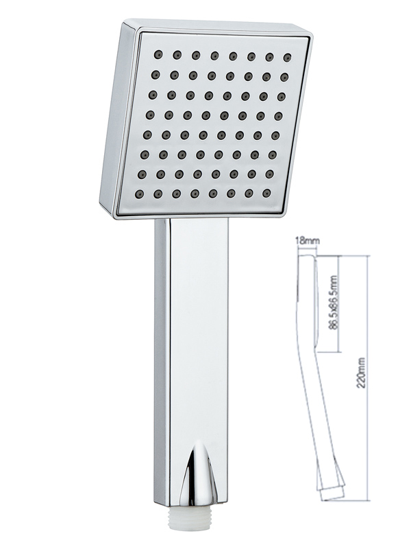 rain shower head with handheld A-303
