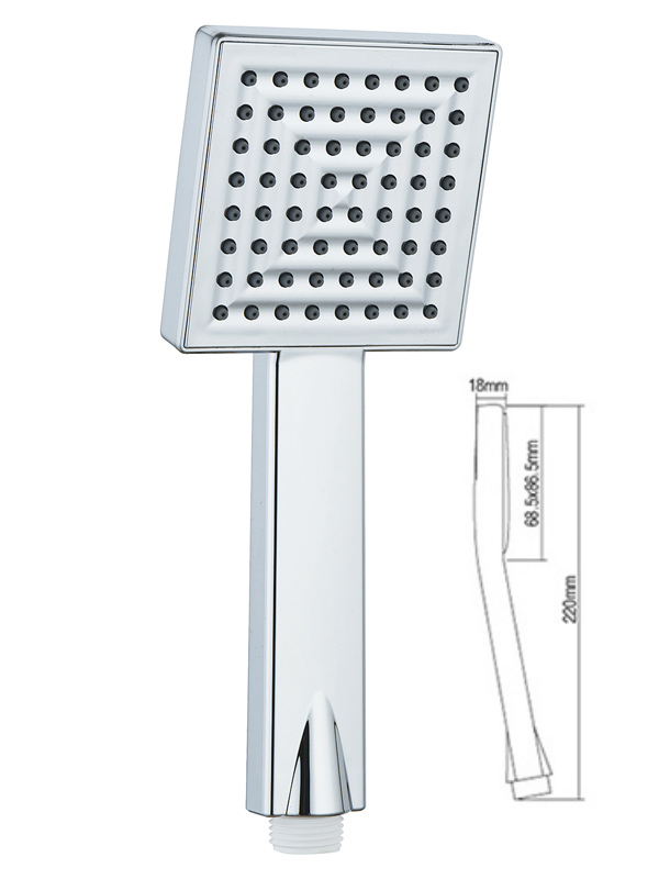 high pressure handheld shower head A-304