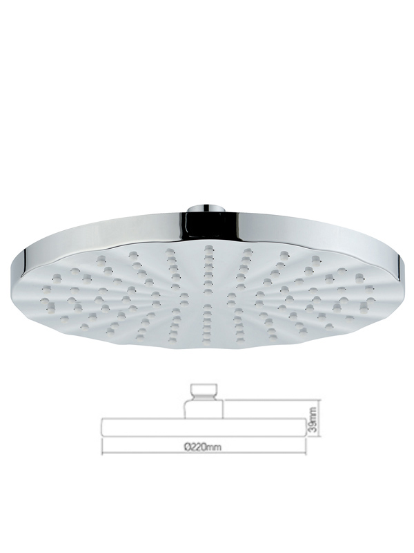 Overhead Shower-rain shower head C-300