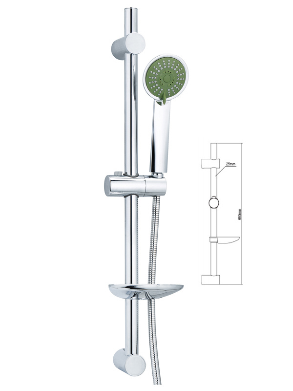 How to determine the installation height of the shower head